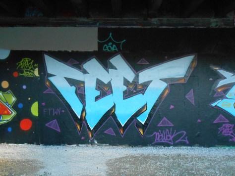 Feet, Wask - graffiti, besancon 2016 (2)