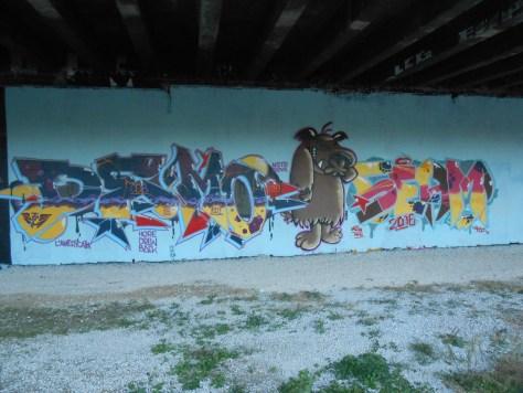 DEMO, SEAM - graffiti - besancon 2016 (1)
