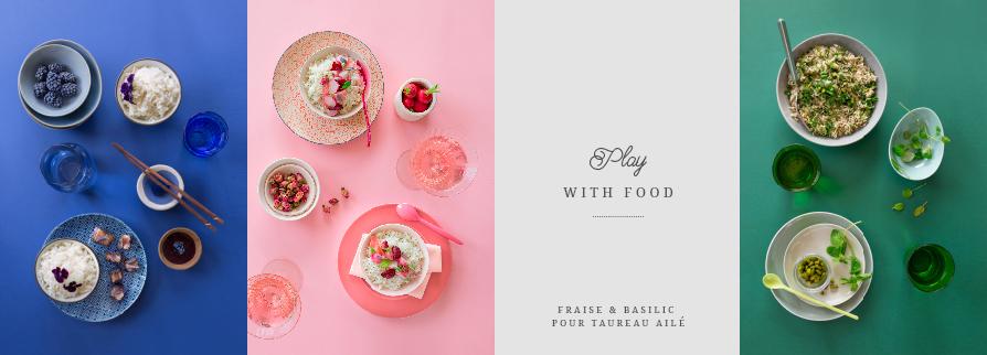 Play with food ©Fraise & Basilic
