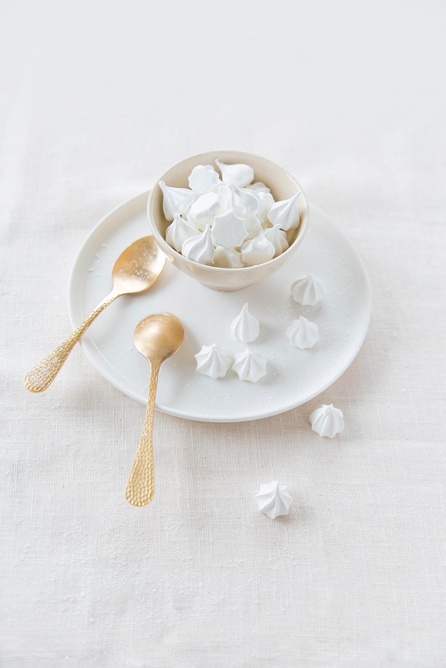 Petites meringues croquantes ©Fraise & Basilic