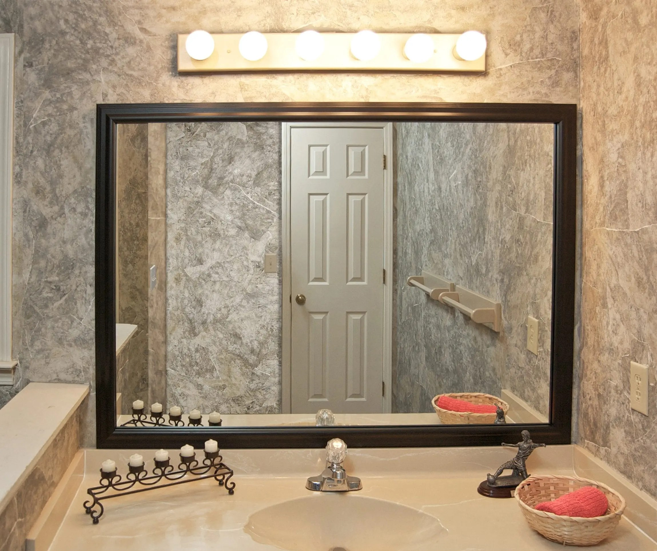 Beveled Mirror Trim Kits Black Edges On Mirrors Why It Happens And What To Do