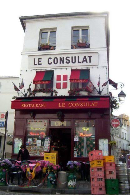 Restaurant le Consulat - Montmartre - Paris