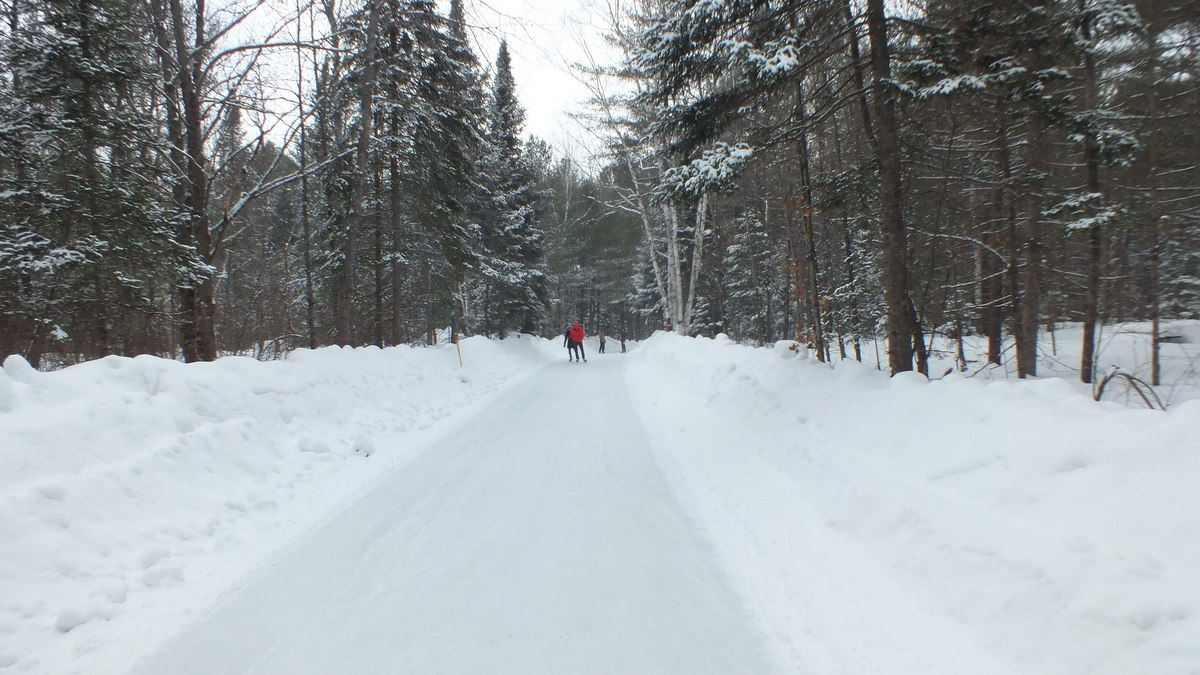 Red 1 Parking Arrowhead Ice Skating Through The Woods At Arrowhead Provincial Park