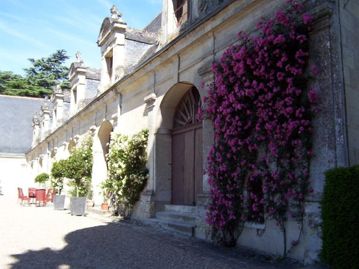 Former stables - Chateau de la Bourdaisiere Castle - France