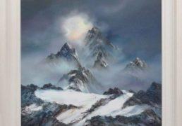 Philip Gray Mountain Light. framed