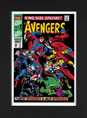 Stan Lee The Avengers King Size Special #2 paper 2