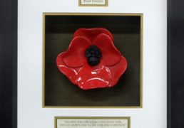 Royal-Fusilliers-Ceramic-Framed-Poppy