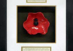 Royal-Northumberland-Fusilliers-Ceramic-Framed-Poppy