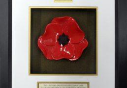 Scots-Guards-Ceramic-Framed-Poppy