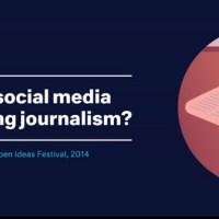 ¿Cómo están cambiando el periodismo las redes sociales?