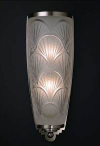Crystal Nouveau Wall Sconce, lighting creation, Franck