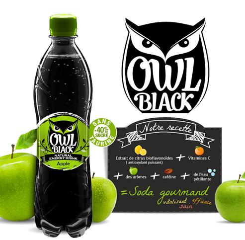 Owl Black Pomme Verte