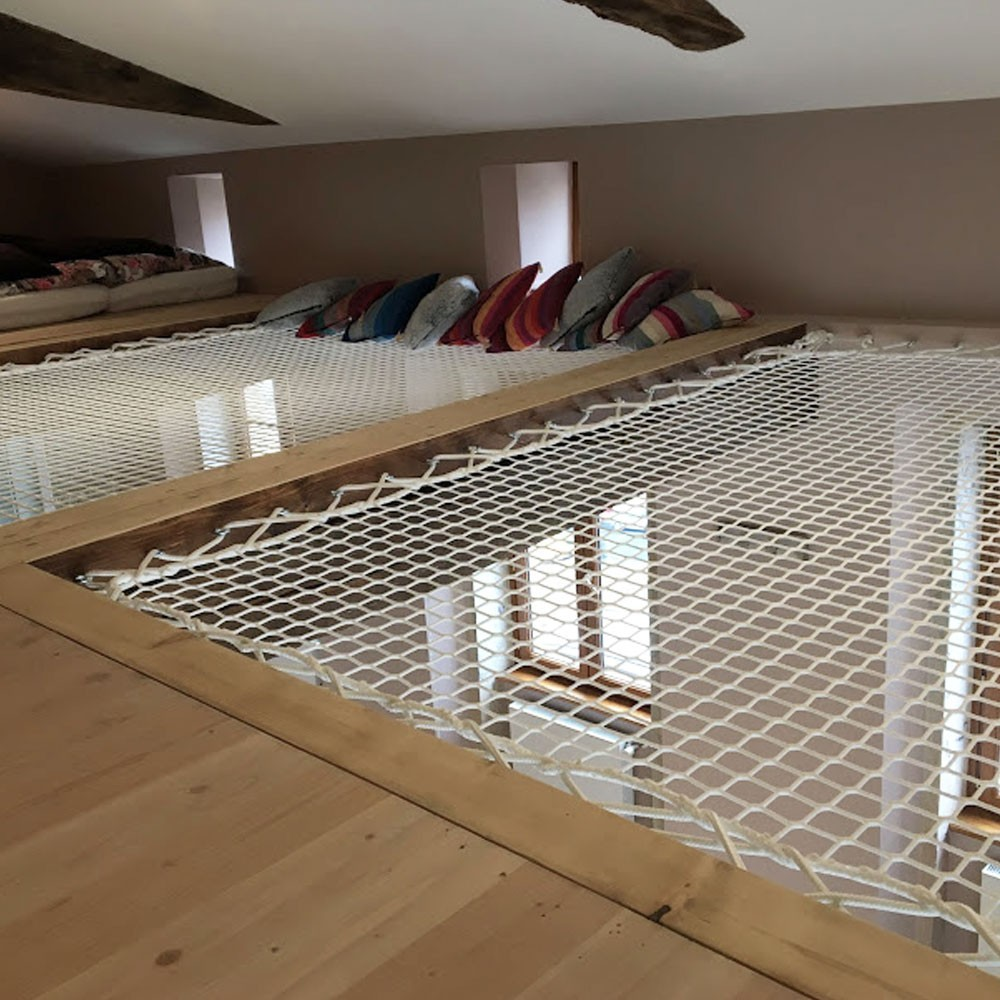 Hängematte In Wohnung Hammock Floor - An Original Relaxation Space