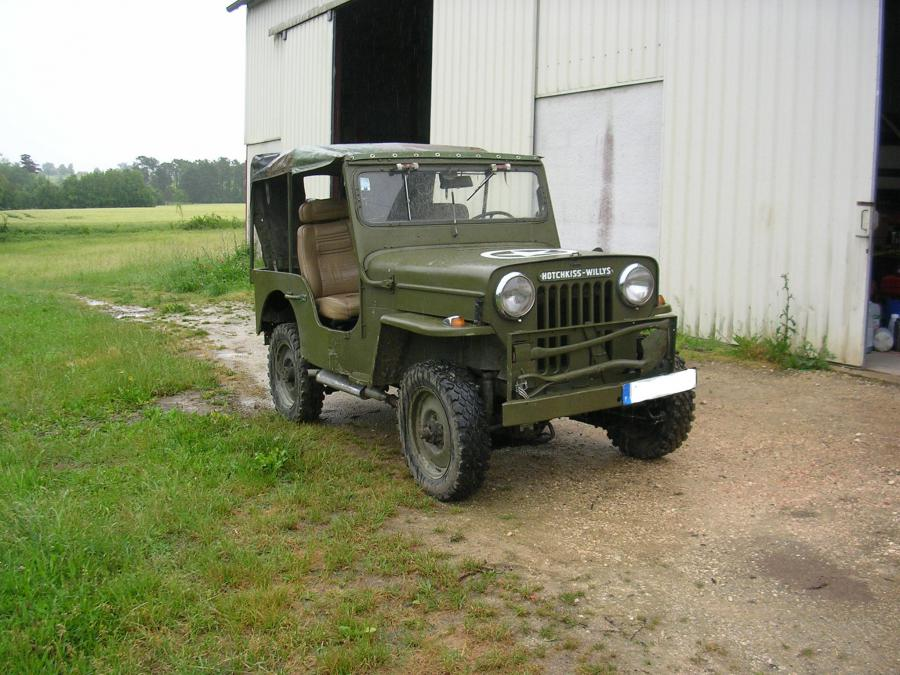 Bache Pour Table Troc Echange Jeep Hotchkiss Willys Sur France-troc.com