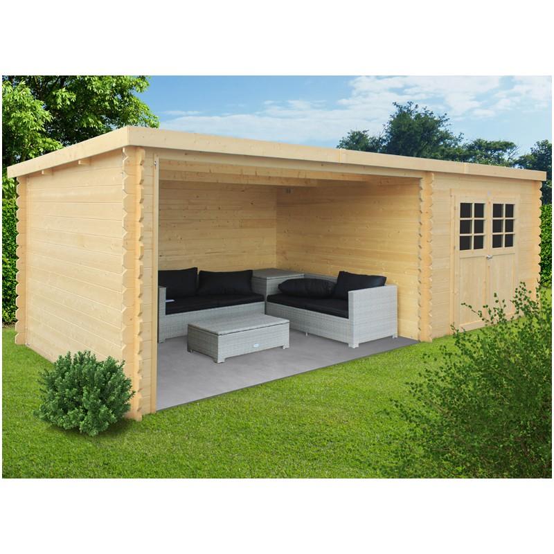 Abri Salon De Jardin   Espace Terrasse / Jardin - Les Jardins De La ...