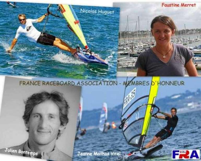 Membres d'honnneur F.R.A. : Nicolas Huguet, Faustine Merret, Julien Bontemps, Jeanne Mailhos-Vitel