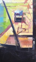 Corridors. Oil on Canvas. 2015.