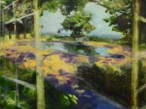 "Open Windows, 2013. Oil on Canvas. ""Display Windows"" series. SOLD."
