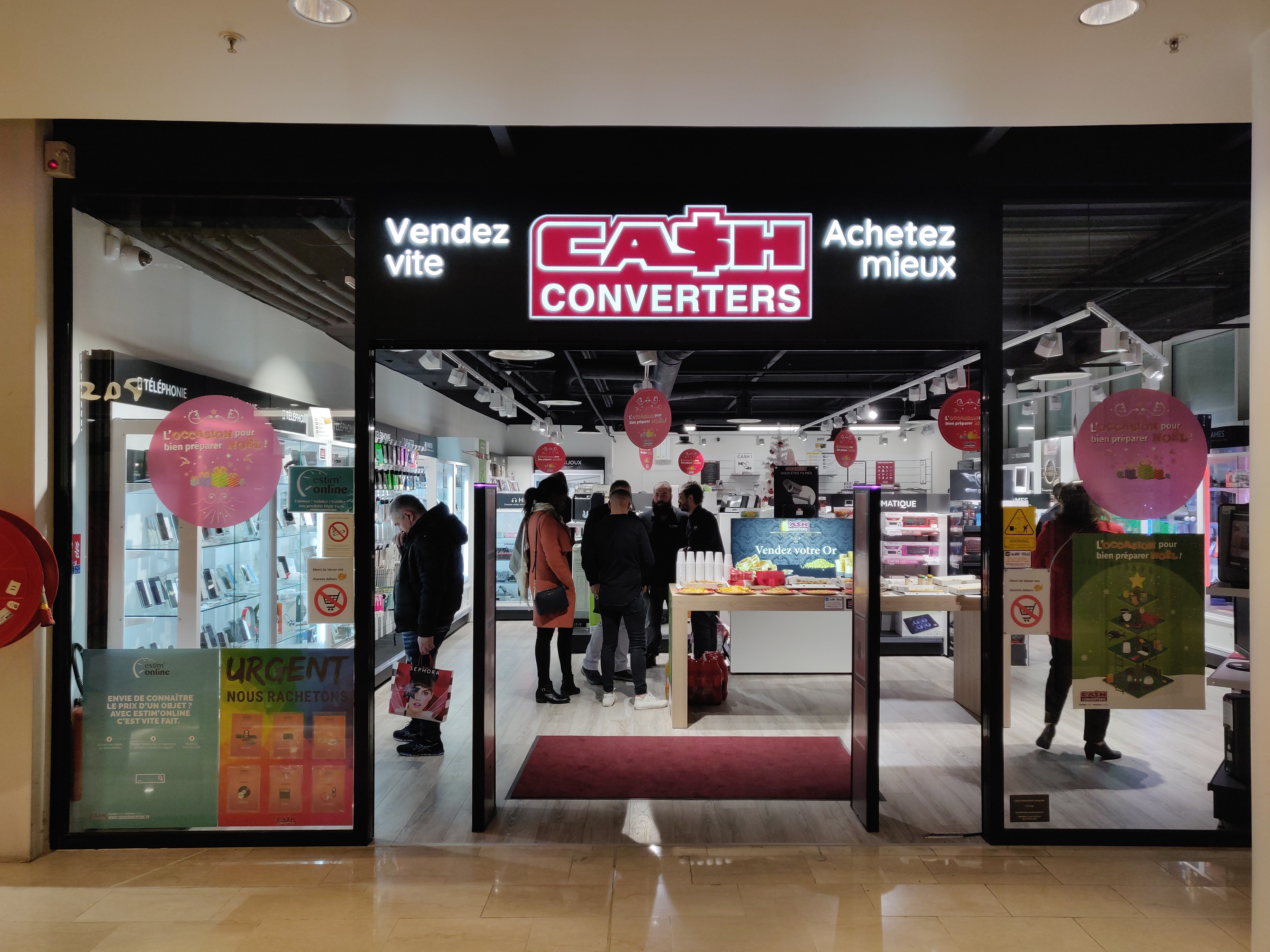 O Parinor Boutiques Inauguration Cash Converters O Parinor Cash Converters