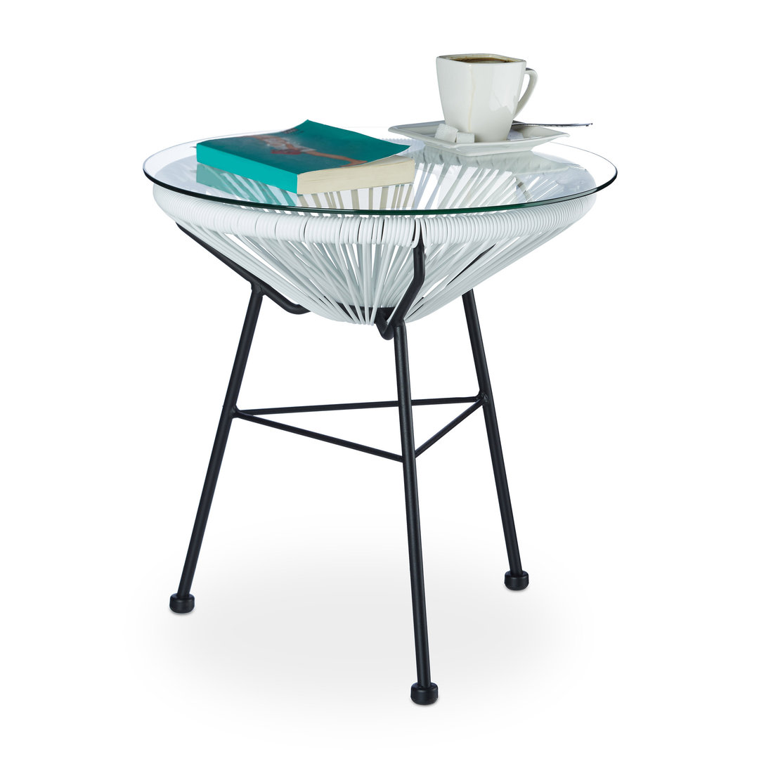 Table Basse Design Blanche Table Basse Design Et Retro De Jardin Blanche