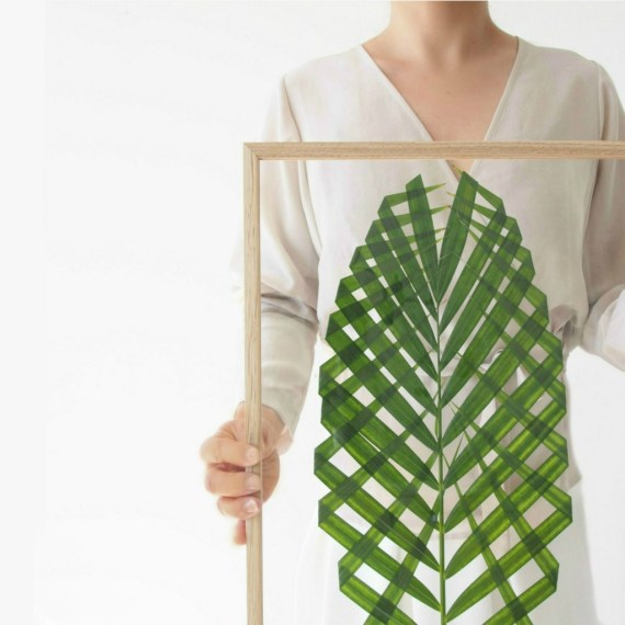DIY Palm Leaf Art via Monster's Circus | Francois et Moi