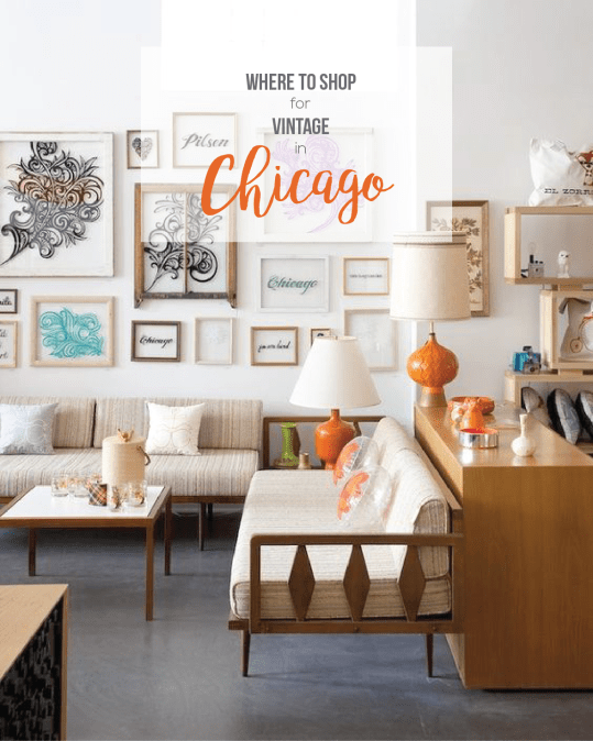 Favorite Shops for Thrift & Vintage Home in Chicago