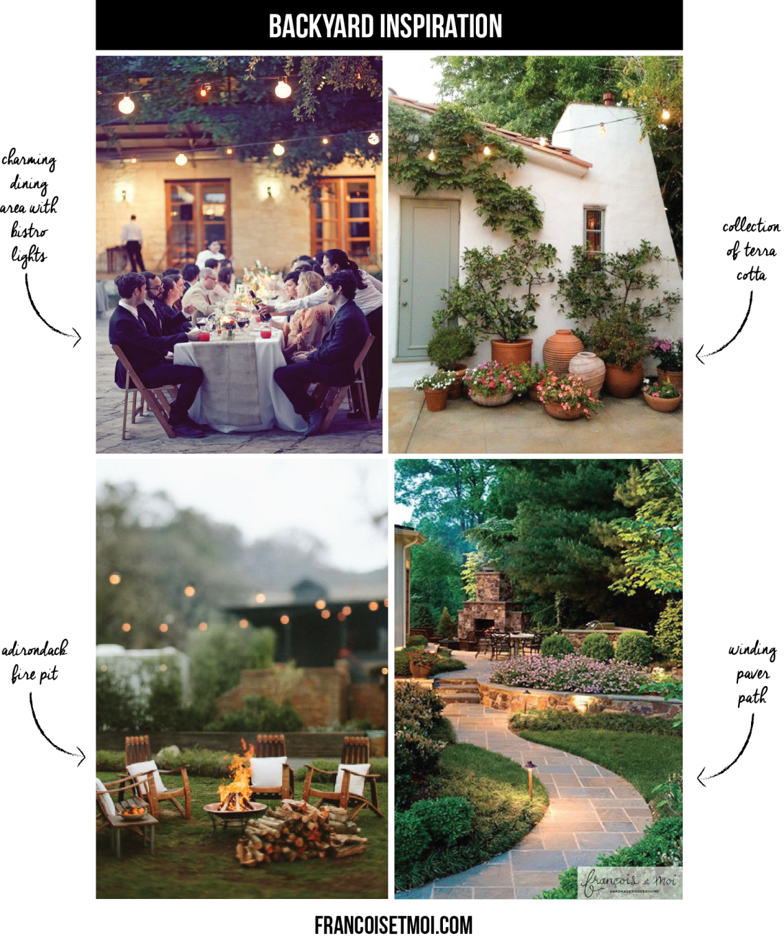 Looking for some backyard design inspiration? Come see what we're cooking up for ours!