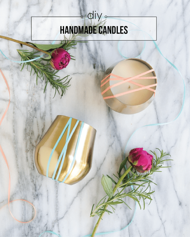 Melt up a bunch of these essential oil DIY candles for Holiday gifting this year! Click for all the deets!