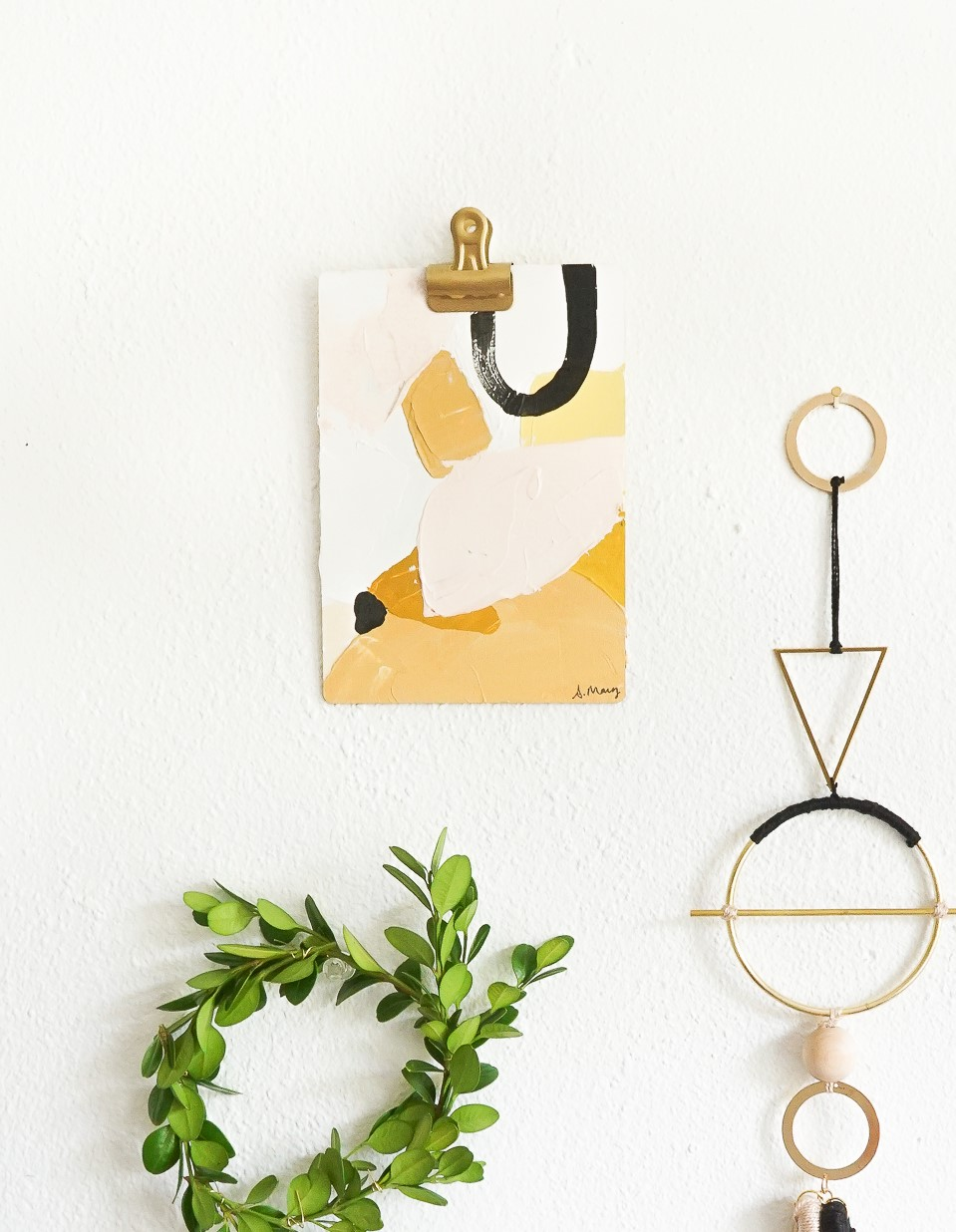 Come peek inside the bright and colorful studio of painter and illustrator, Ashley Mary!