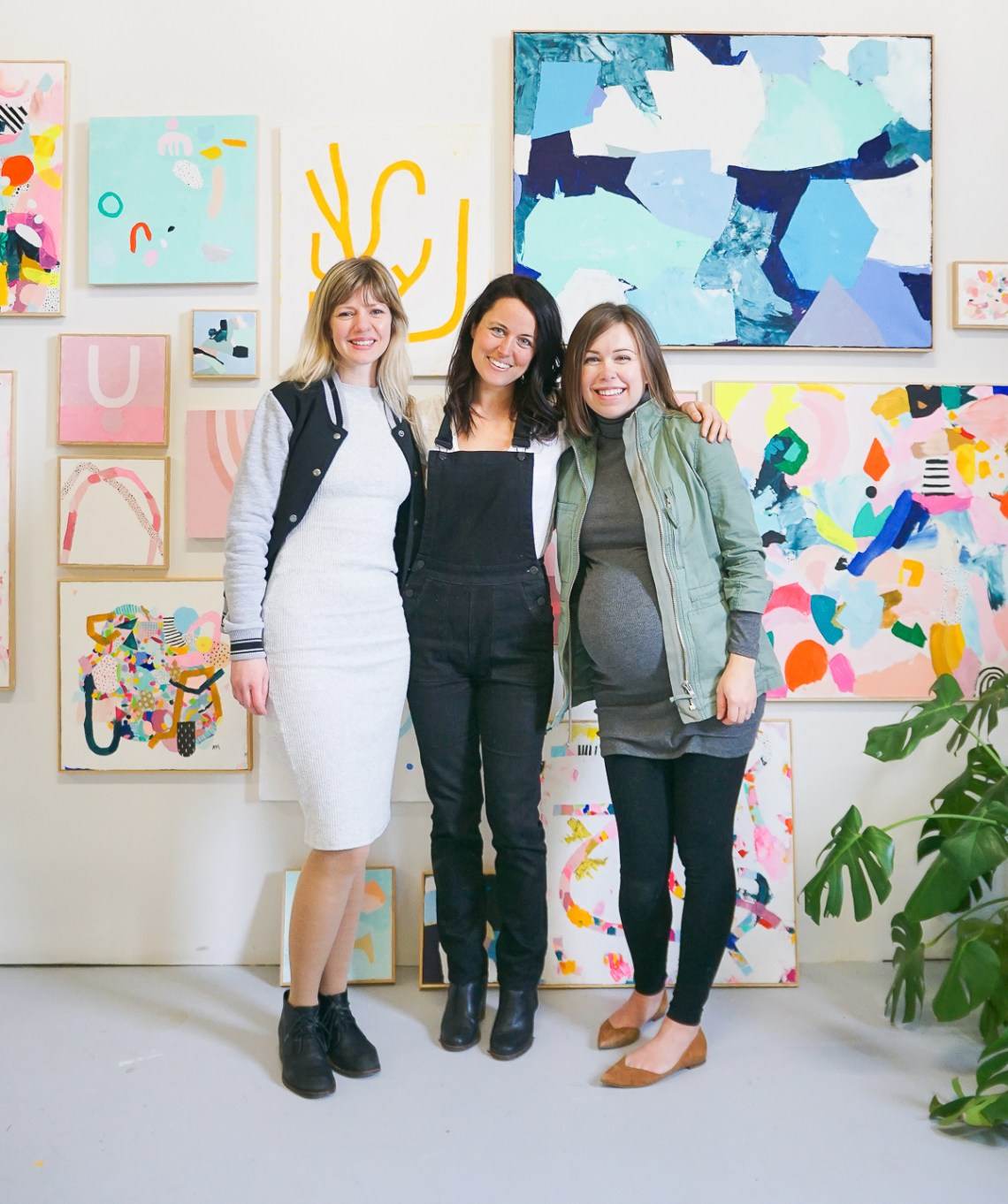 Come peek inside the bright and colorful studio of painter and illustrator, Ashley Mary of Ashley Mary Art!