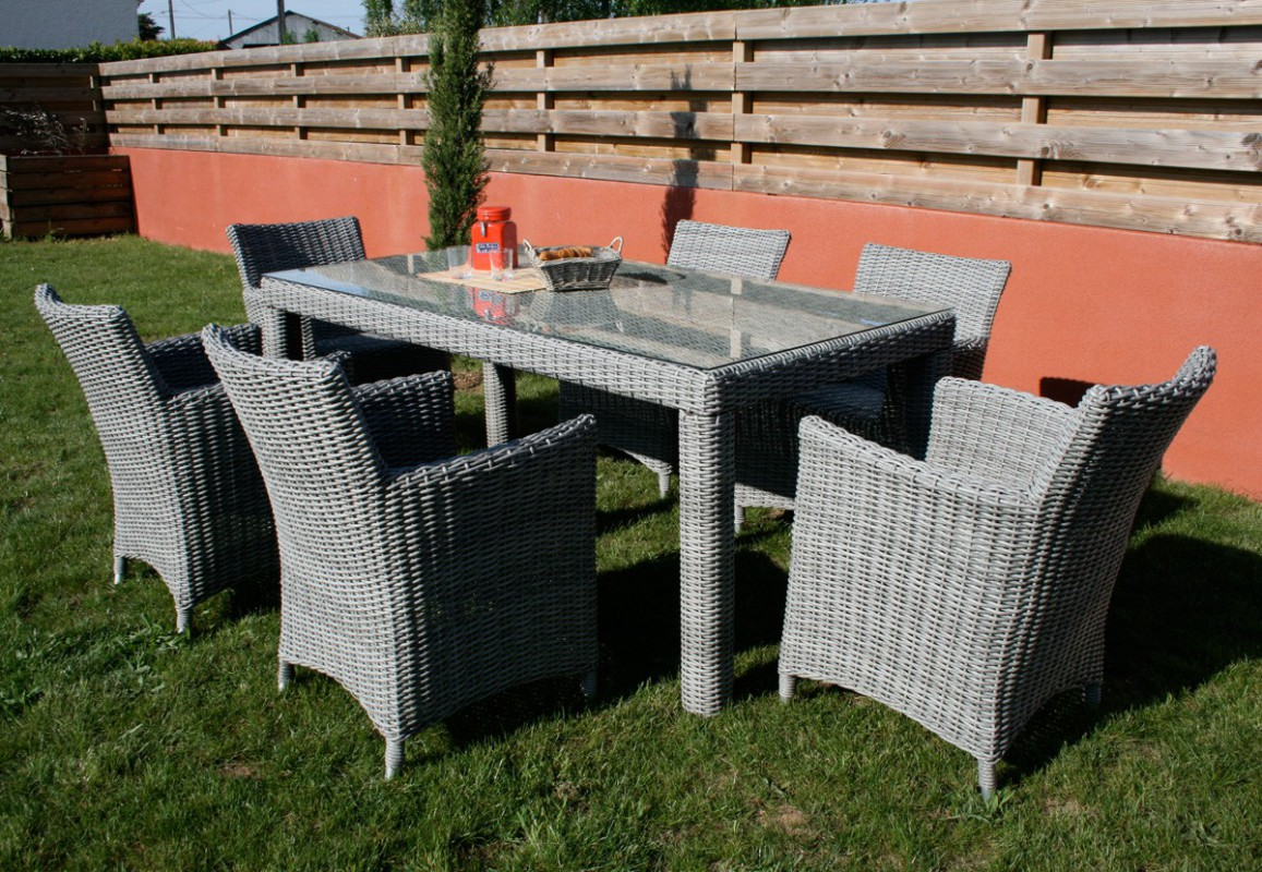 Salon De Jardin En Resine Tressee Ronde Awesome Salon De Jardin Table Ronde Resine Tressee
