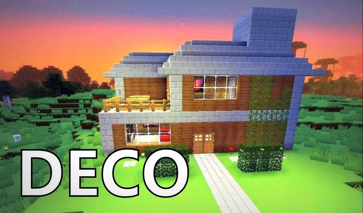 Comment Fair Une Maison De Luxe Dans Minecraft | Construction ...