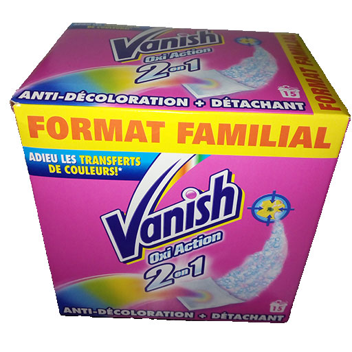 Vernis Spray Action Vanish Oxi Action 2en1 15 Sachets / 450 G – Franewel