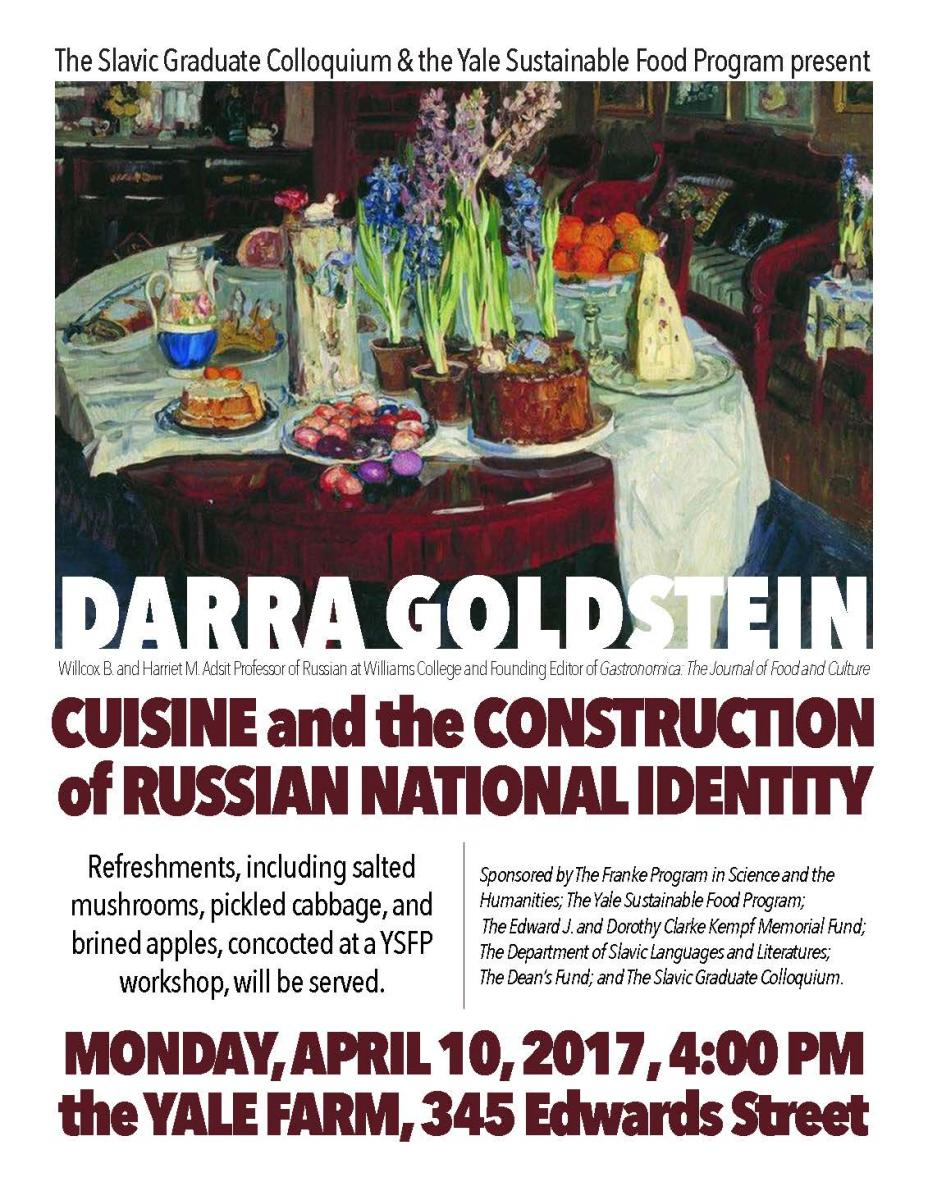 Construction Cuisine Cuisine And The Construction Of Russian National Identity Talk At