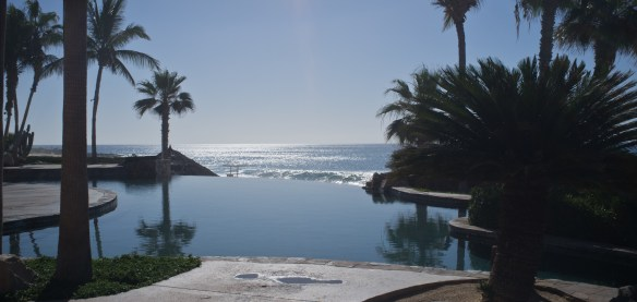 Infinity pool at the Sheraton Hacienda del Mar.
