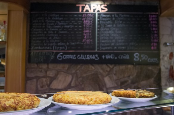 Tapas everywhere!