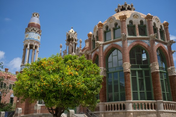Hospital de Sant Pau, a World Heritage site.