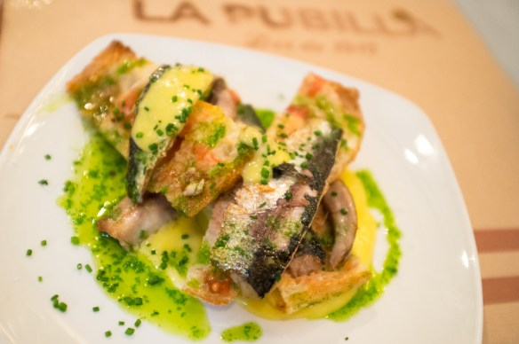 More tasty treats at La Publilla in Barcelona's Grácia neighborhood.
