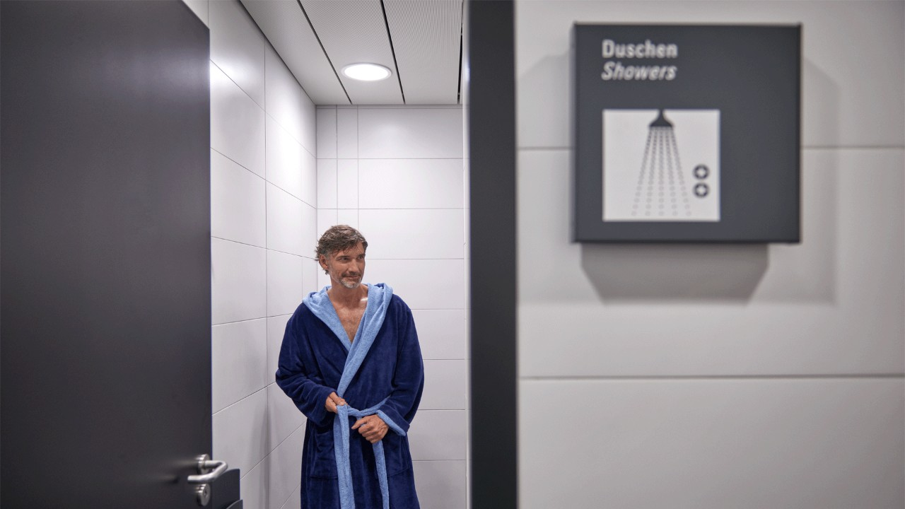 Duschen In English Frankfurt Airport Showers