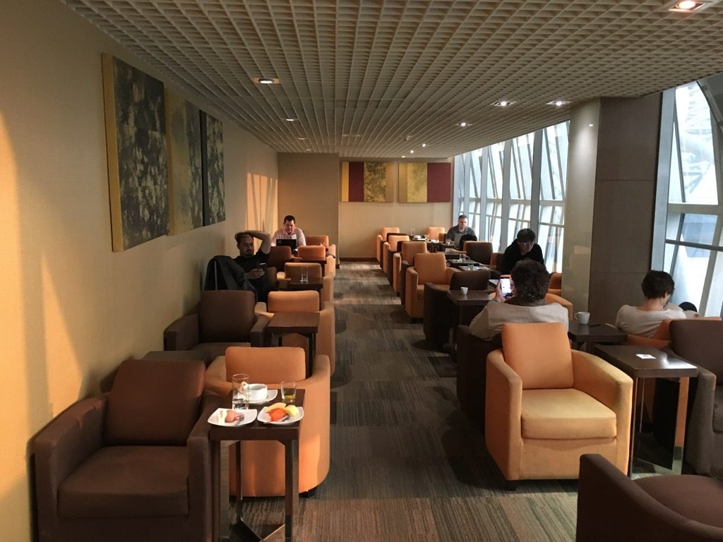 Thailand Sessel Review Thai Business Lounge Bangkok Terminal C Frankfurtflyer De