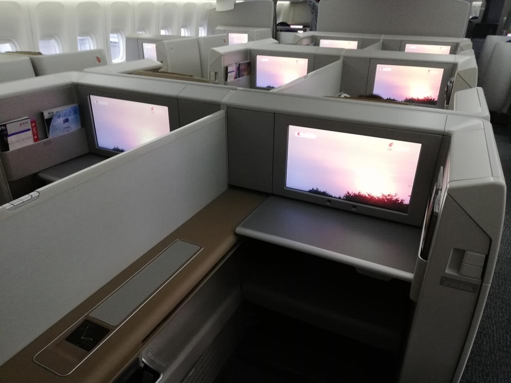 Was Heißt Offene Küche Review Air China First Class In Der Boeing 747 8 Von