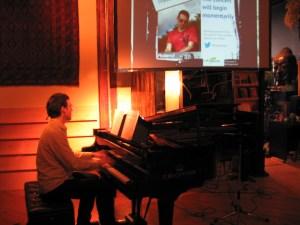 Prezi Piano Concert at Musideum in Toronto in 2013