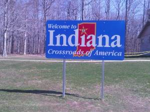 First stop, Indiana!