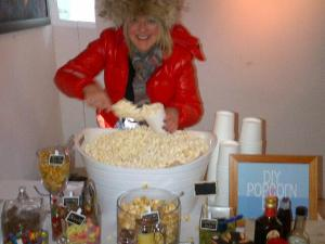 CD Release - DIY Popcorn Bar