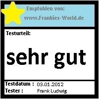 Frankies Testwelt - Testsiegel - Hysalma Antitranspirant