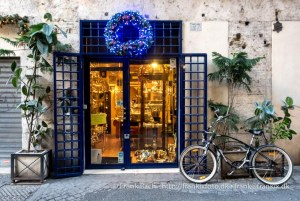 Blue Christmas in Rome