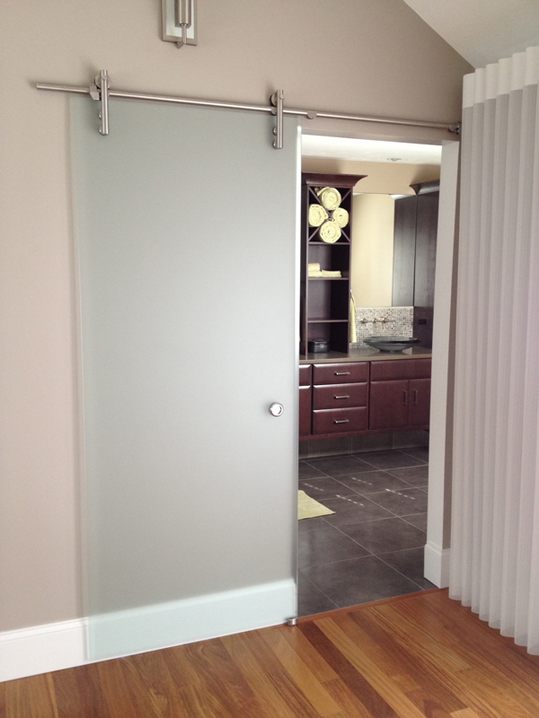Frameless Mirror Sliding Closet Doors Residential Glass Installation Replacement Franklin