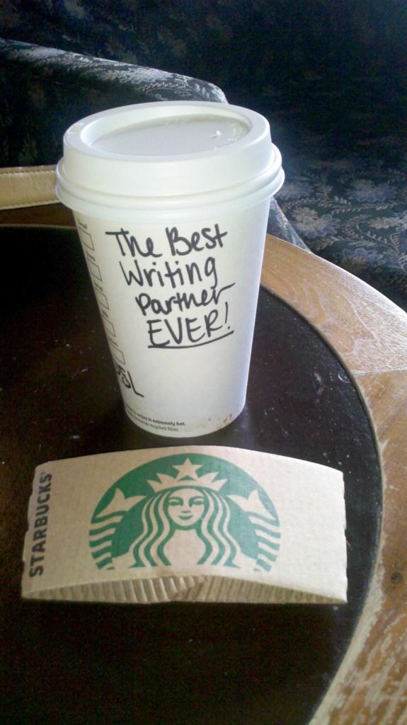 Starbucks: Best Writing Partner EVER.