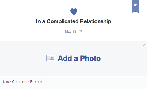 It's Complicated.