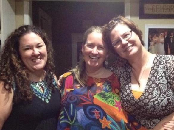 Three Amigas: Corrie, Cynthia, Molly Jo